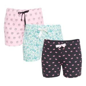 Women Pack of 3 Printed Lounge Shorts